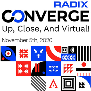 A New Online Event – Radix Converge 2020  Partners Together November 5