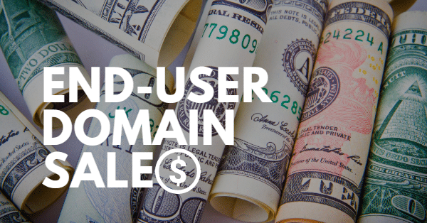 14 recent end user domain name sales