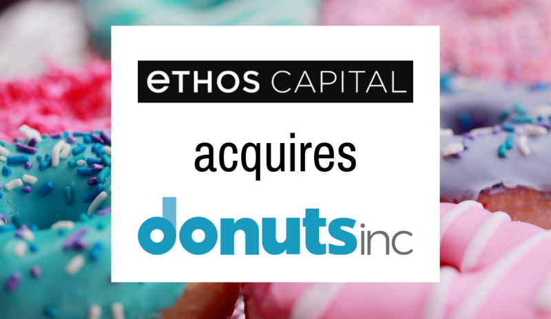 Breaking: Ethos Capital acquires Donuts