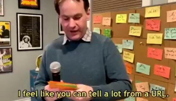 Domain name humor from comedian Mike Birbiglia