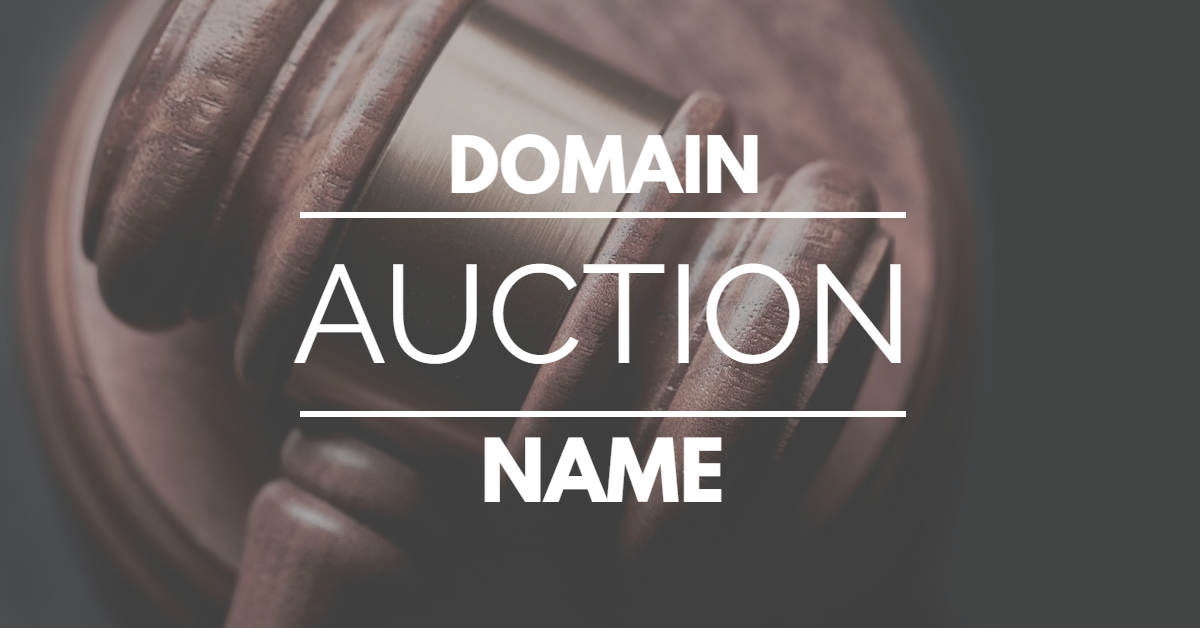 ROTD live virtual domain name auction today