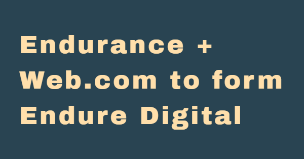 Endurance to acquire Web.com, spin off Constant Contact
